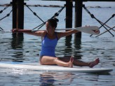 Pilates on SUP board Lesson
