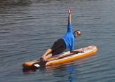 SUP pilates lesson