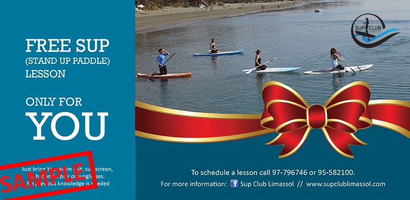 SUP Club Limassol - Gift Card