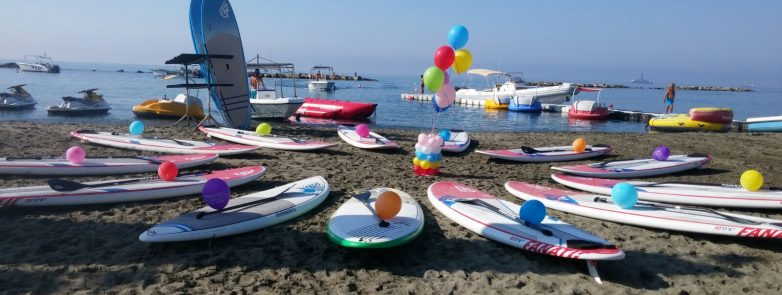 Birthday party on the beach - sup club limassol. cyprus