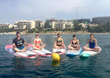 SUP Pilates & Yoga