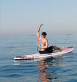 fitness on sup board limassol